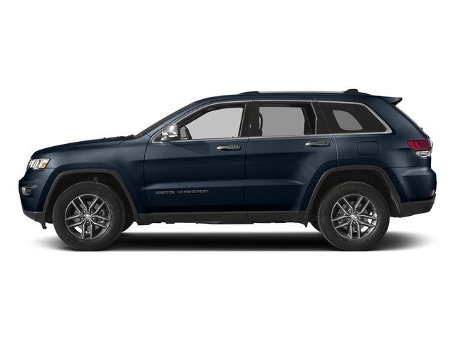 True Blue Pearlcoat 2017 Jeep Grand Cherokee Pictures Grand Cherokee Utility 4D Limited 4WD T-Dsl photos side view