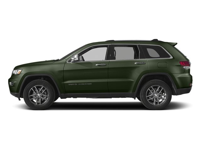 Recon Green Clearcoat 2017 Jeep Grand Cherokee Pictures Grand Cherokee Limited 75th Anniversary Edition 4x2 *Ltd Avail* photos side view