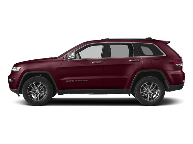Velvet Red Pearlcoat 2017 Jeep Grand Cherokee Pictures Grand Cherokee Utility 4D Limited 2WD T-Dsl photos side view