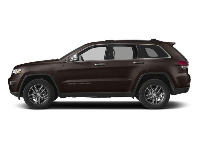 Luxury Brown Pearlcoat 2017 Jeep Grand Cherokee Pictures Grand Cherokee Utility 4D Limited 4WD T-Dsl photos side view