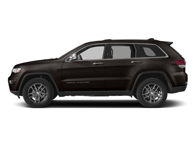 Walnut Brown Metallic Clearcoat 2017 Jeep Grand Cherokee Pictures Grand Cherokee Utility 4D Limited 4WD T-Dsl photos side view