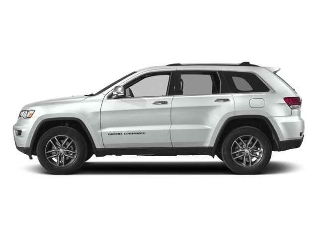 Bright White Clearcoat 2017 Jeep Grand Cherokee Pictures Grand Cherokee Utility 4D Limited 2WD T-Dsl photos side view