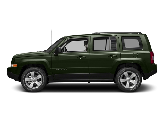 Recon Green Clearcoat 2017 Jeep Patriot Pictures Patriot Utility 4D Sport 2WD I4 photos side view