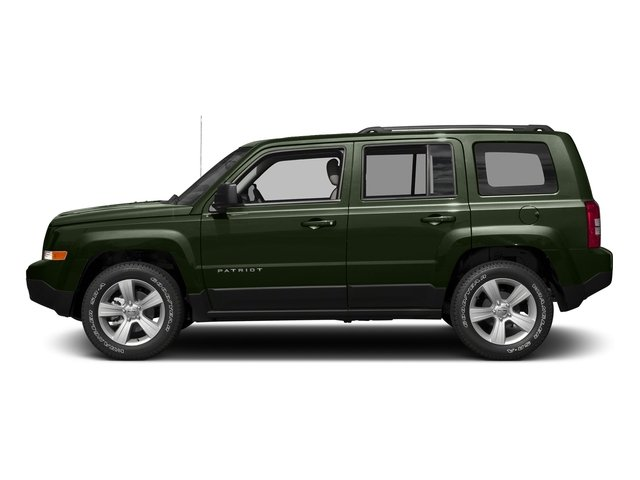 Recon Green Clearcoat 2017 Jeep Patriot Pictures Patriot Utility 4D Sport 4WD I4 photos side view
