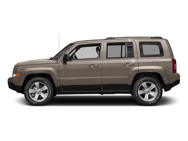 Mojave Sand Clearcoat 2017 Jeep Patriot Pictures Patriot Utility 4D Sport 2WD I4 photos side view