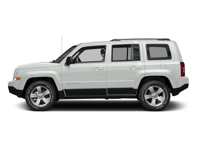 Bright White Clearcoat 2017 Jeep Patriot Pictures Patriot Utility 4D Sport 4WD I4 photos side view