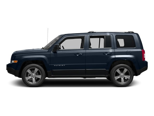 True Blue Pearlcoat 2017 Jeep Patriot Pictures Patriot Latitude FWD photos side view