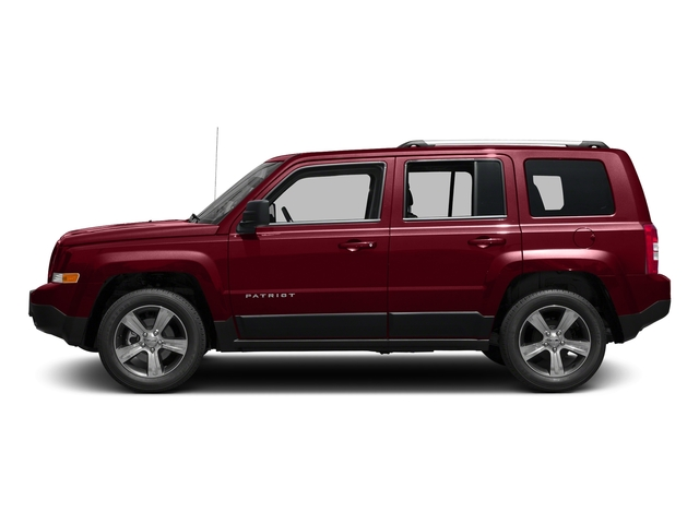 Deep Cherry Red Crystal Pearlcoat 2017 Jeep Patriot Pictures Patriot Latitude FWD photos side view