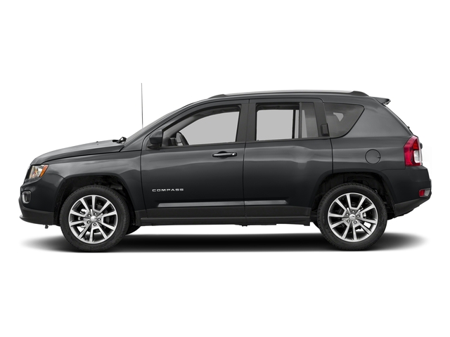 Granite Crystal Metallic Clearcoat 2017 Jeep Compass Pictures Compass Latitude 4x4 *Ltd Avail* photos side view