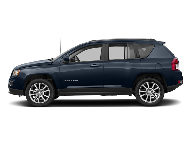 True Blue Pearlcoat 2017 Jeep Compass Pictures Compass Latitude 4x4 *Ltd Avail* photos side view