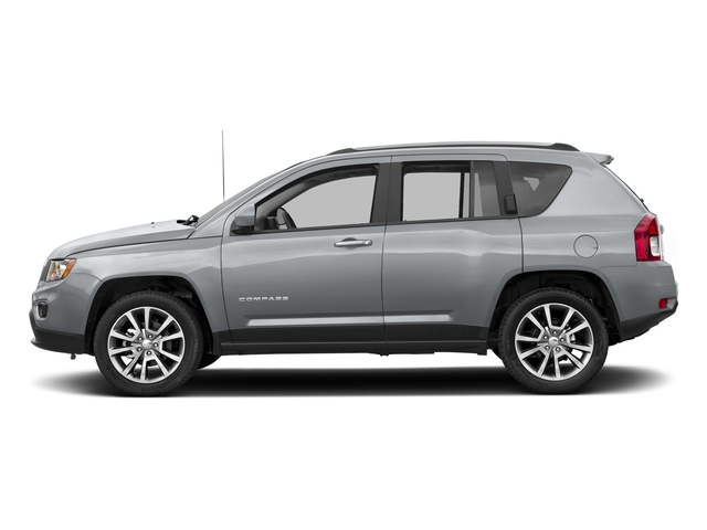 Billet Silver Metallic Clearcoat 2017 Jeep Compass Pictures Compass Sport SE 4x4 *Ltd Avail* photos side view