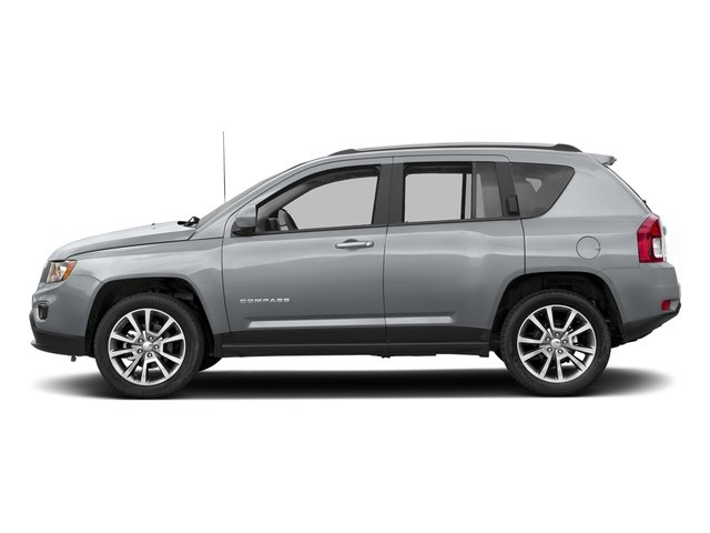Billet Silver Metallic Clearcoat 2017 Jeep Compass Pictures Compass Latitude 4x4 *Ltd Avail* photos side view