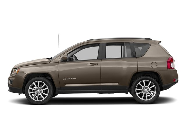 Mojave Sand Clearcoat 2017 Jeep Compass Pictures Compass Latitude 4x4 *Ltd Avail* photos side view