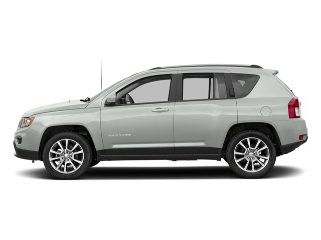 Bright White Clearcoat 2017 Jeep Compass Pictures Compass Latitude 4x4 *Ltd Avail* photos side view