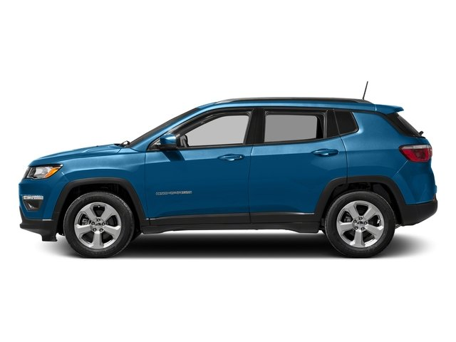 Laser Blue Pearlcoat 2017 Jeep Compass Pictures Compass Latitude FWD photos side view