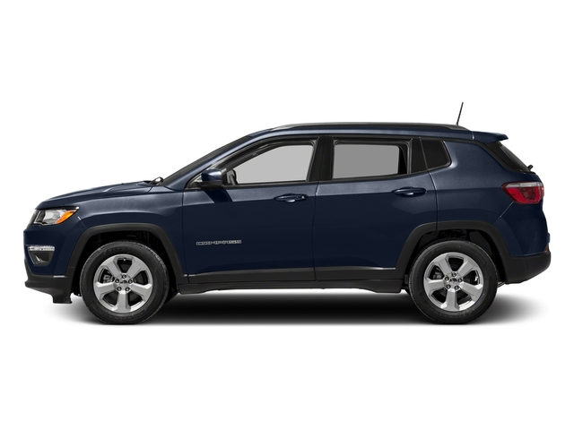 Jazz Blue Pearlcoat 2017 Jeep Compass Pictures Compass Sport 4x4 photos side view