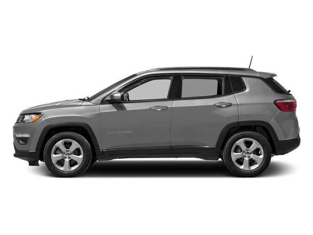 Billet Silver Metallic Clearcoat 2017 Jeep Compass Pictures Compass Sport 4x4 photos side view