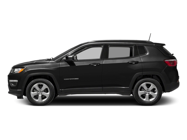 Diamond Black Crystal Pearlcoat 2017 Jeep Compass Pictures Compass Sport 4x4 photos side view