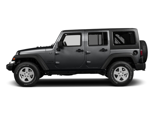 Granite Crystal Metallic Clearcoat 2017 Jeep Wrangler Unlimited Pictures Wrangler Unlimited Big Bear 4x4 *Ltd Avail* photos side view