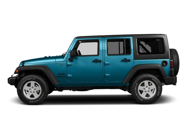 Chief Clearcoat 2017 Jeep Wrangler Unlimited Pictures Wrangler Unlimited Big Bear 4x4 *Ltd Avail* photos side view