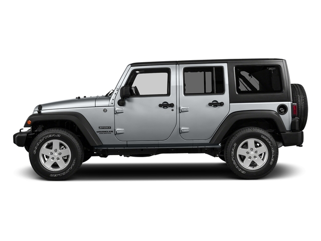 Billet Silver Metallic Clearcoat 2017 Jeep Wrangler Unlimited Pictures Wrangler Unlimited Big Bear 4x4 *Ltd Avail* photos side view