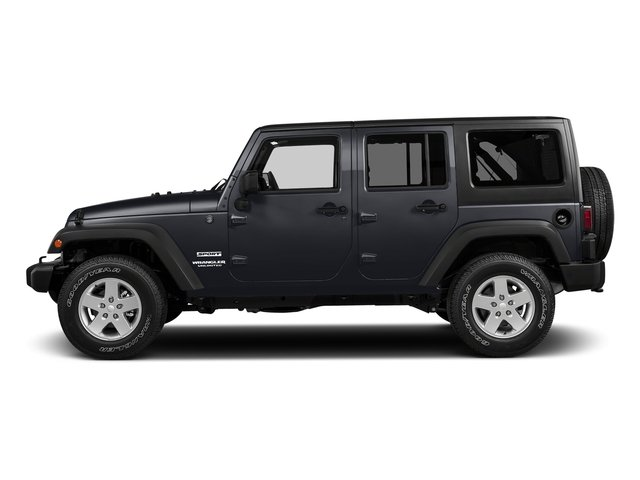 Rhino Clearcoat 2017 Jeep Wrangler Unlimited Pictures Wrangler Unlimited Freedom 4x4 *Ltd Avail* photos side view