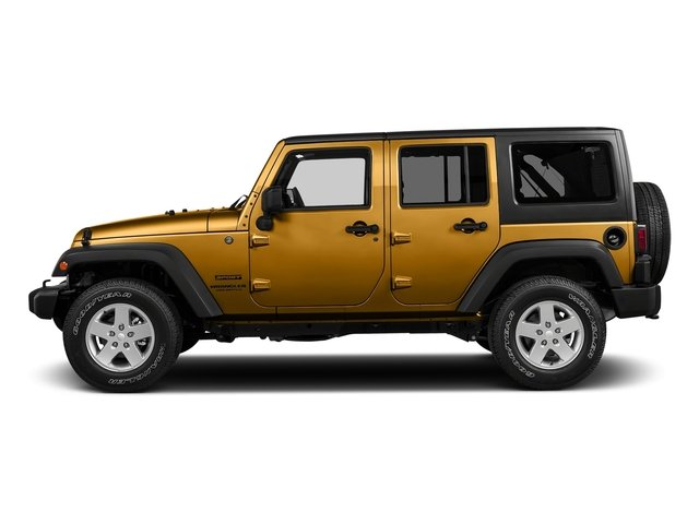Gobi Clearcoat 2017 Jeep Wrangler Unlimited Pictures Wrangler Unlimited Freedom 4x4 *Ltd Avail* photos side view
