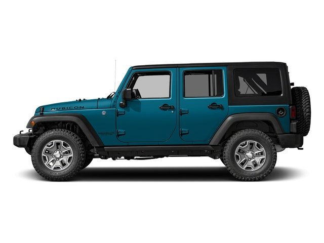 Chief Clearcoat 2017 Jeep Wrangler Unlimited Pictures Wrangler Unlimited Rubicon Recon 4x4 photos side view