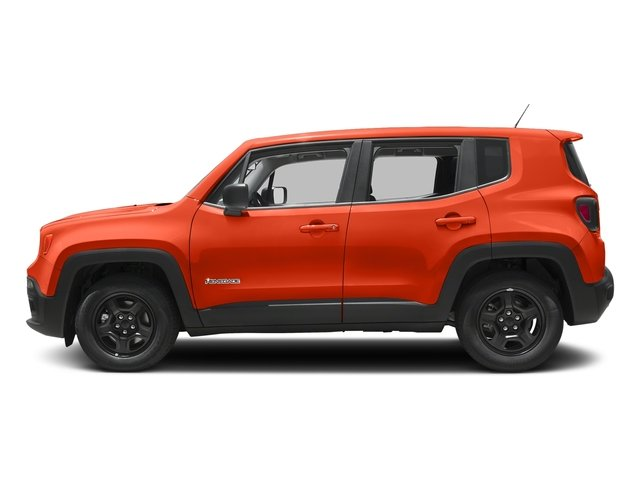 Omaha Orange 2017 Jeep Renegade Pictures Renegade Sport 4x4 photos side view