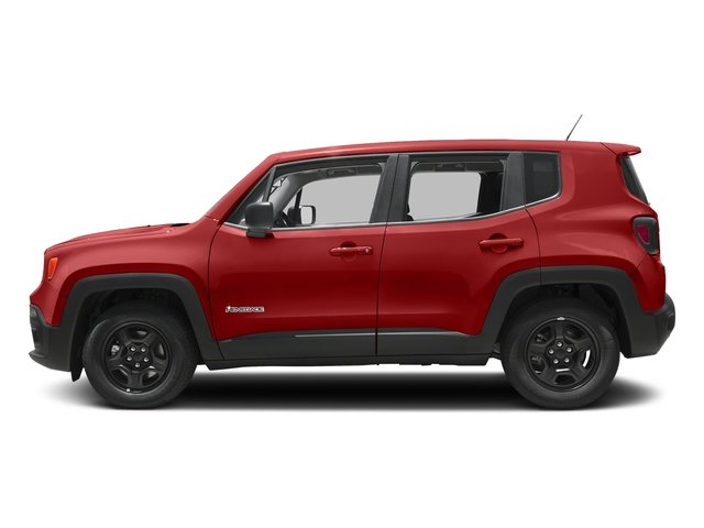 Colorado Red 2017 Jeep Renegade Pictures Renegade Sport 4x4 photos side view