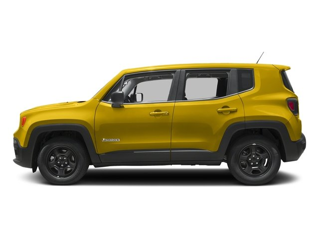 Solar Yellow 2017 Jeep Renegade Pictures Renegade Sport 4x4 photos side view