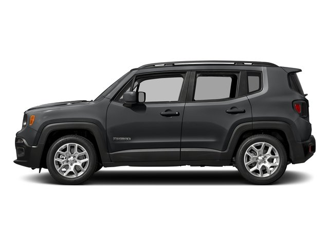 Granite Crystal Metallic Clearcoat 2017 Jeep Renegade Pictures Renegade Latitude 4x4 photos side view