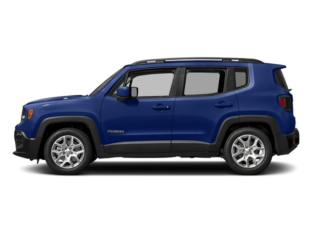 Jetset Blue 2017 Jeep Renegade Pictures Renegade Latitude 4x4 photos side view