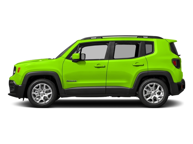 Hypergreen Clearcoat 2017 Jeep Renegade Pictures Renegade Altitude 4x4 photos side view