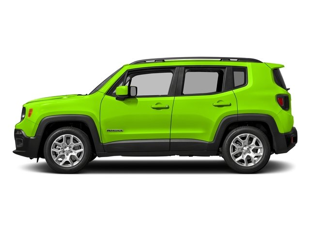 Hypergreen Clearcoat 2017 Jeep Renegade Pictures Renegade Utility 4D Altitude 4WD photos side view