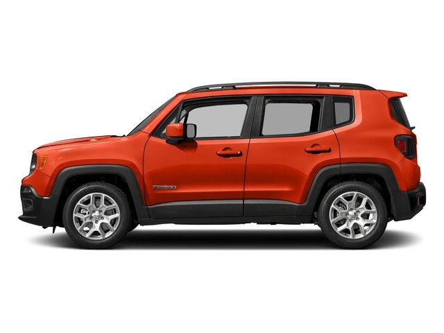 Omaha Orange 2017 Jeep Renegade Pictures Renegade Altitude 4x4 photos side view