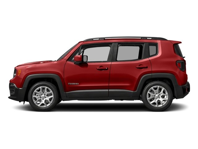 Colorado Red 2017 Jeep Renegade Pictures Renegade Altitude 4x4 photos side view