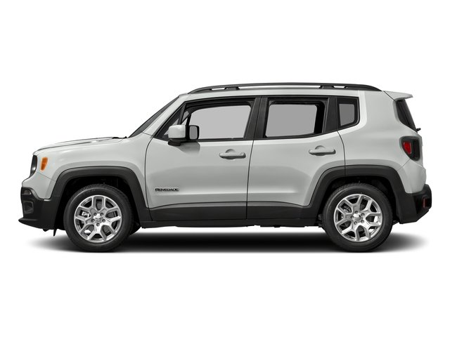 Alpine White 2017 Jeep Renegade Pictures Renegade Altitude FWD photos side view