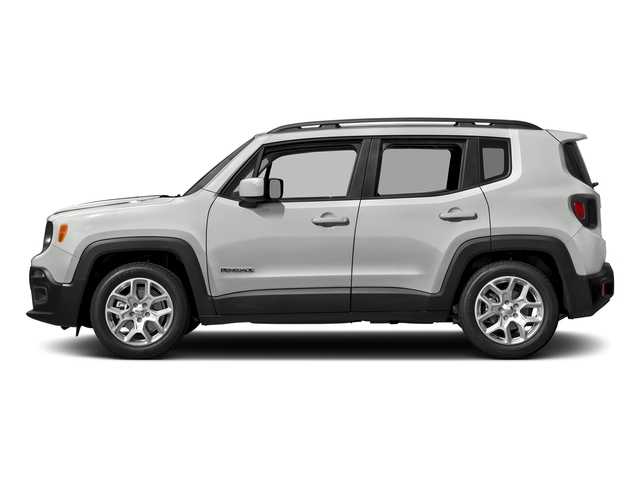Alpine White 2017 Jeep Renegade Pictures Renegade Utility 4D Altitude 4WD photos side view