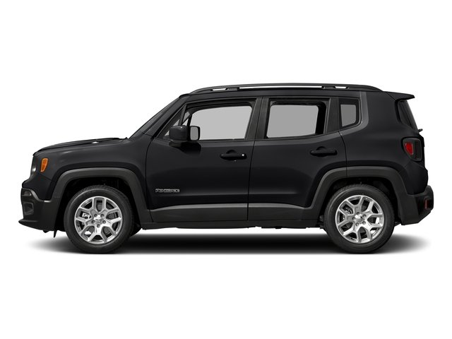Black 2017 Jeep Renegade Pictures Renegade Latitude FWD photos side view