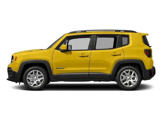 Solar Yellow 2017 Jeep Renegade Pictures Renegade Altitude FWD photos side view