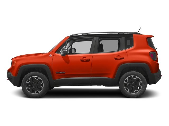 Omaha Orange 2017 Jeep Renegade Pictures Renegade Utility 4D Trailhawk AWD photos side view