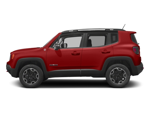 Colorado Red 2017 Jeep Renegade Pictures Renegade Utility 4D Trailhawk AWD photos side view
