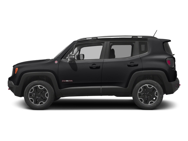 Black 2017 Jeep Renegade Pictures Renegade Utility 4D Trailhawk AWD photos side view