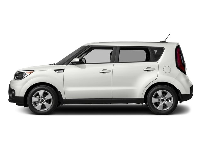 Clear White 2017 Kia Soul Pictures Soul Wagon 4D I4 photos side view