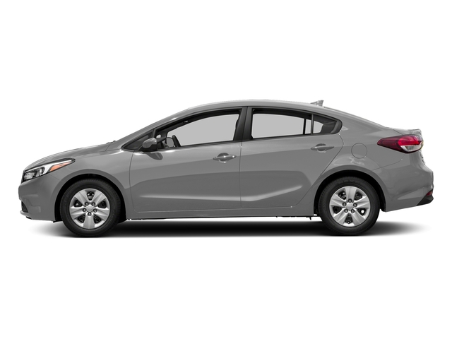 Silky Silver 2017 Kia Forte Pictures Forte EX Auto photos side view