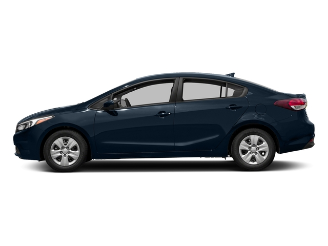 Deep Sea Blue 2017 Kia Forte Pictures Forte EX Auto photos side view