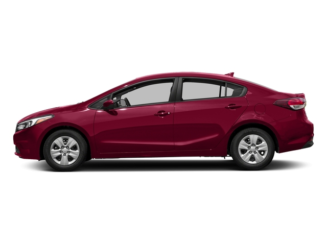 Garnet Red 2017 Kia Forte Pictures Forte LX Manual photos side view