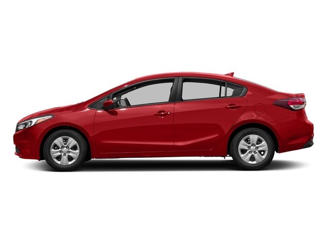 Currant Red 2017 Kia Forte Pictures Forte EX Auto photos side view