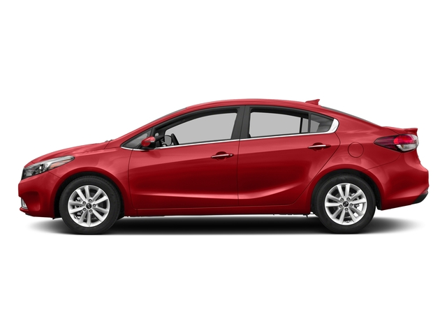 Currant Red 2017 Kia Forte Pictures Forte S Auto photos side view